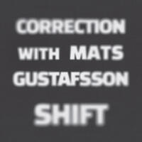 Correction with Mats Gustafsson - SHIFT - CD coverart